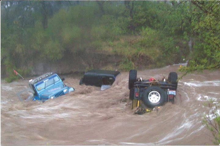 Sad Day..... Oh Well. Tomorrow's tasks, flip jeep, pull drain plugs, drive to work.