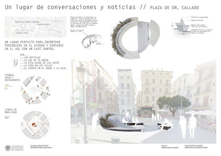 Plaza de Dr. Callado // UPV, Escultura y Entorno Urbano