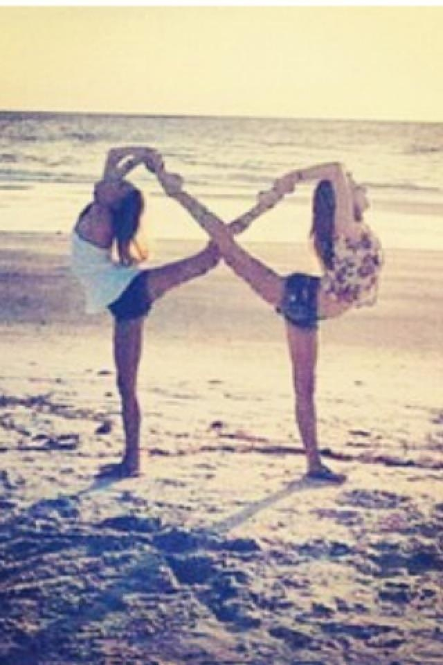 I want to do this...infinity pose