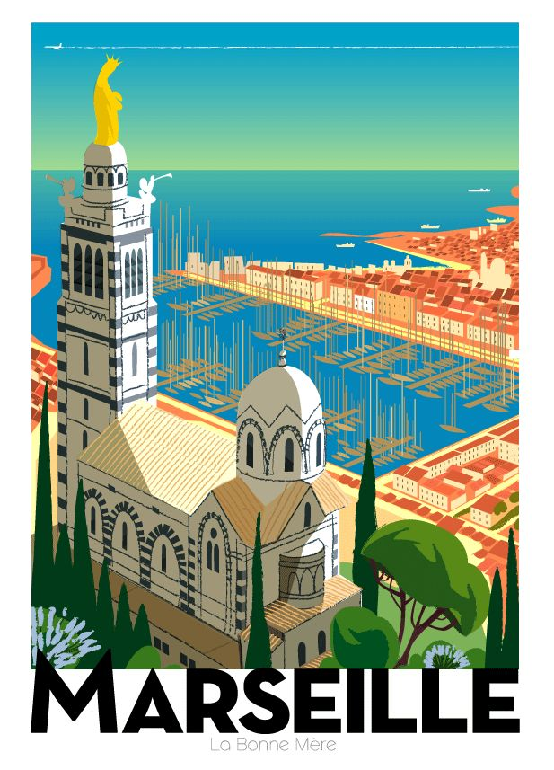 1066 best poster art images on pinterest vintage travel posters poster vin - Monsieur store marseille ...