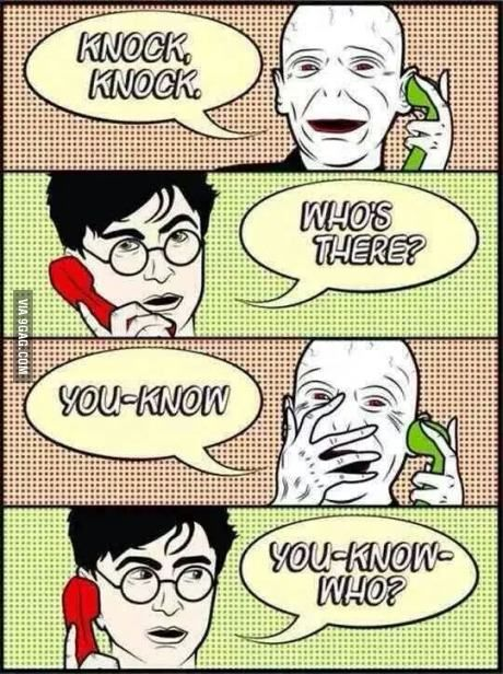 Voldemort in his free time