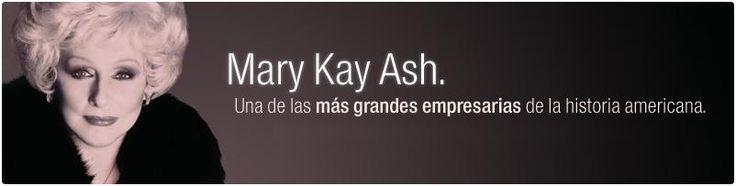 Mary Kay... inspiradora para toda mujer...