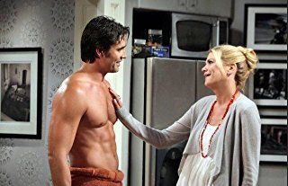 Kristen Johnston and Victor Webster in The Exes (2011)