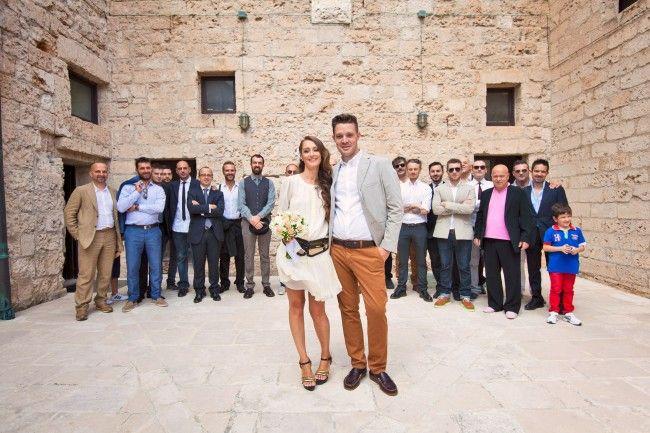 sposo abito salvatore ferragamo estivo ricevimento brindisi matrimonio a Monopoili Bari