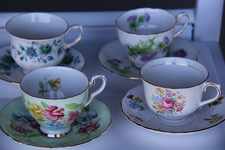 china teacups www.wanakaweddingflowers.co.nz/gallery/