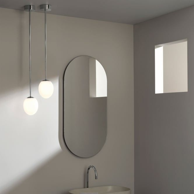 Kiwi Ip44 Led Bathroom Pendant Light In Chrome Bathroom Pendant Bathroom Pendant Lighting Bathroom Ceiling Pendant