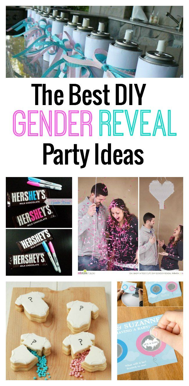 Best 38 Gender Reveal Party Ideas images on Pinterest | Holidays ...