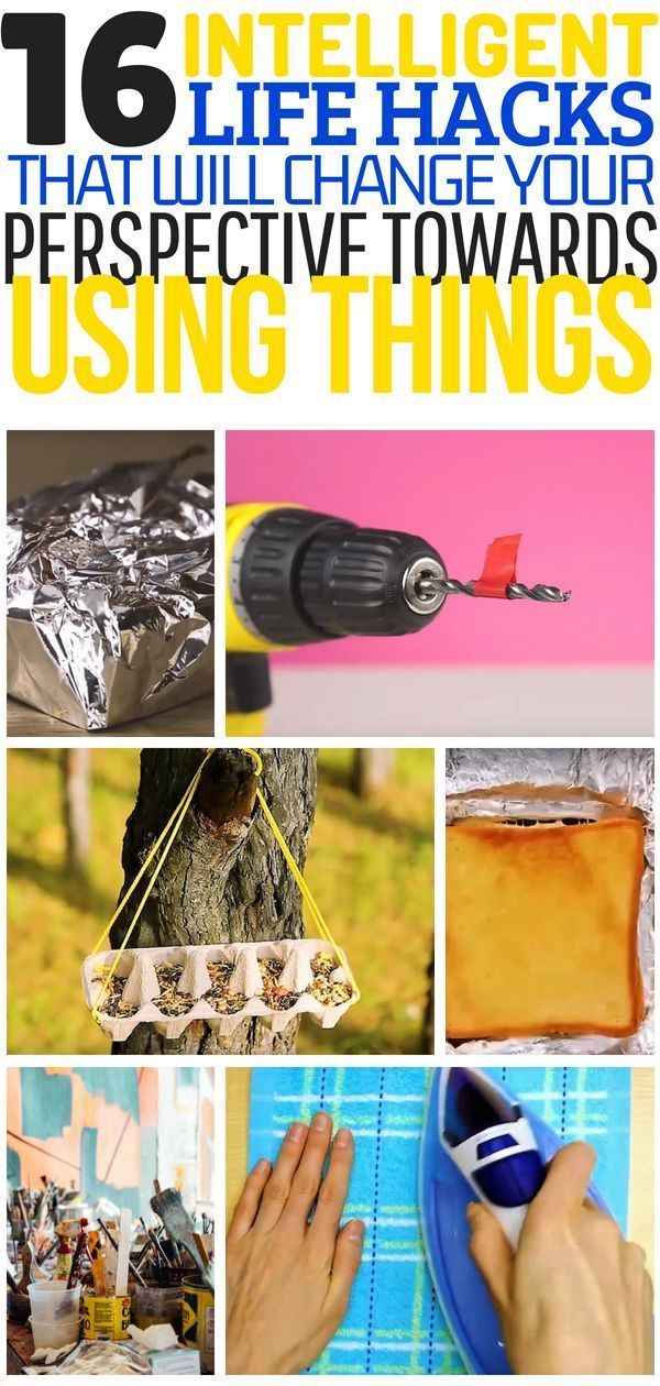 Useful life hacks that will change the way you use things. These life hacks are ...