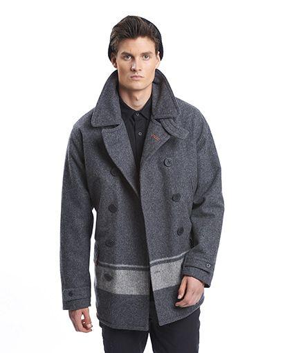 Men's Dock Worker Pea Coat