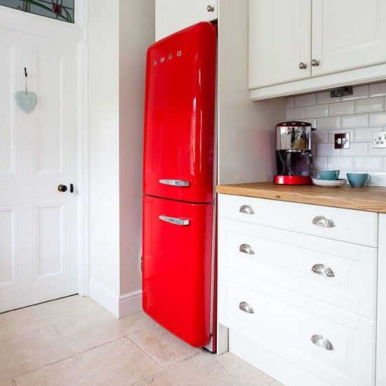 Country Kitchen Fridge: Top 25 Ideas About Red Country Kitchens On Pinterest