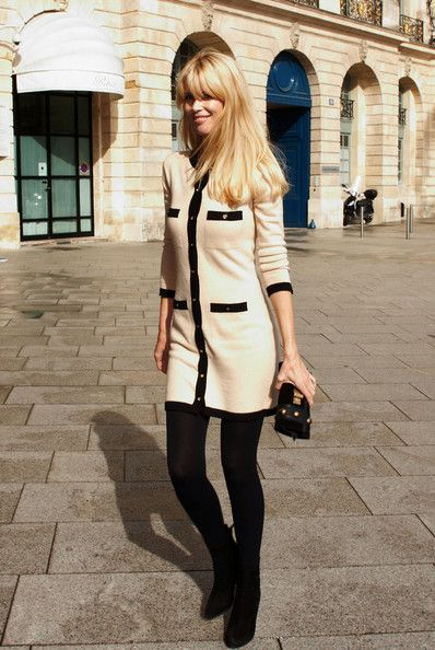 chanel clothing images   Claudia Schiffer Chanel Fashion Show during Fashion Week.