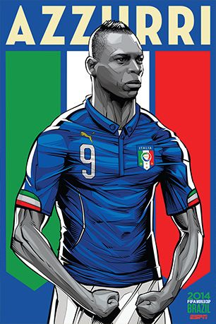 World Cup 2014 Posters: ITALY [ ProTuffDecals.com ] #posters #decal #sports
