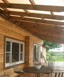 Instructions on how to build a deck roof #buildingadeck #buildadeck