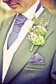♡ Lavender #wedding #Groom ... For wedding ideas, plus how to organise an entire wedding, within any budget ... https://itunes.apple.com/us/app/the-gold-wedding-planner/id498112599?ls=1=8 ♥ THE GOLD WEDDING PLANNER iPhone App ♥  For more wedding inspiration http://pinterest.com/groomsandbrides/boards/ photo pinned with love & light, to help you plan your wedding easily ♡