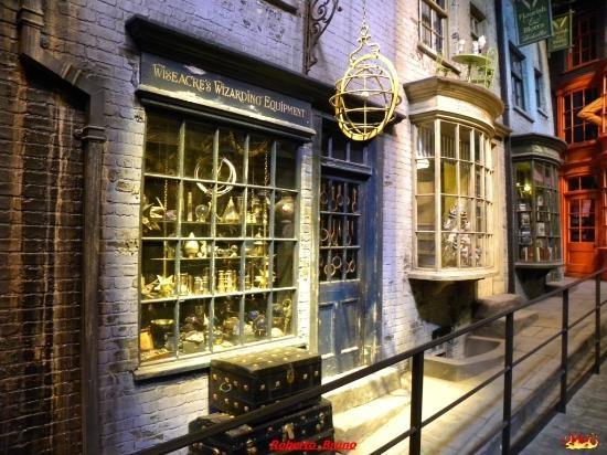 Warner Bros. Studio Tour London: Interno