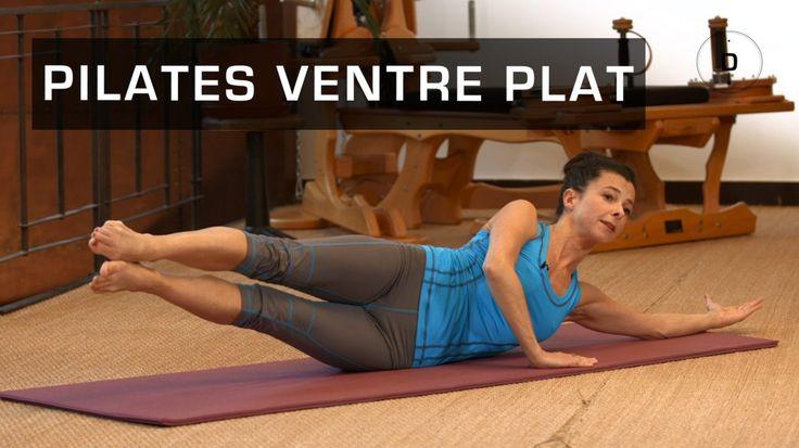 Véréna Tremel, professeur de Pilates, vous aide à renforcer vos abdominaux en profondeur. Planche, roll up, exercice de la centaine, étirement… C'est parti pour 20 minutes de Pilates pour retrouver un ventre plat!