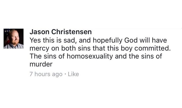 """After Gay Teen Kills Himself, UT State Senate Hopeful Condemns """"Sins"""" of Homosexuality and Murder"""