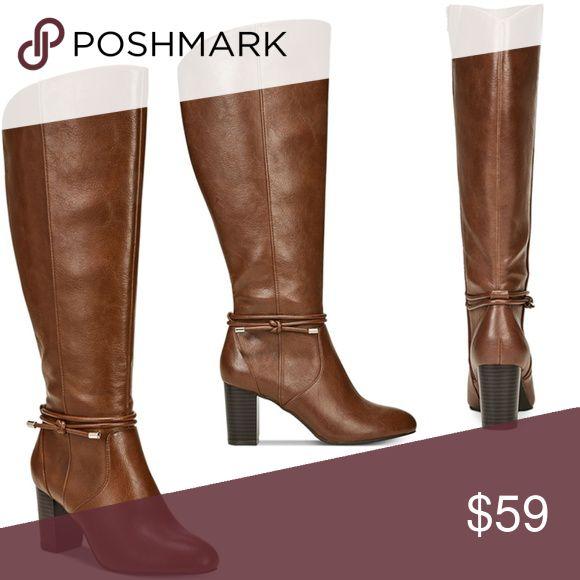 c91e5fd27797 Alfani Women s Step  N Flex Giliann Dress Boots5.5 Product Details Alfani s  Giliann dress boots accent a variety of looks in a sleek …