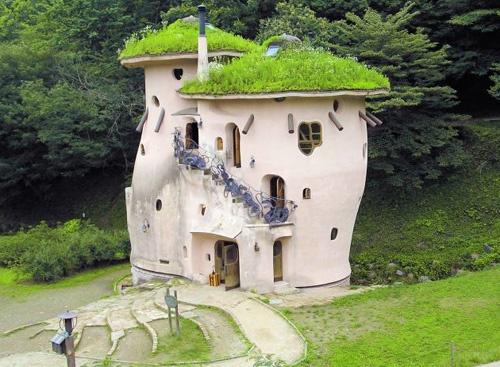 Mushroom House In Japan