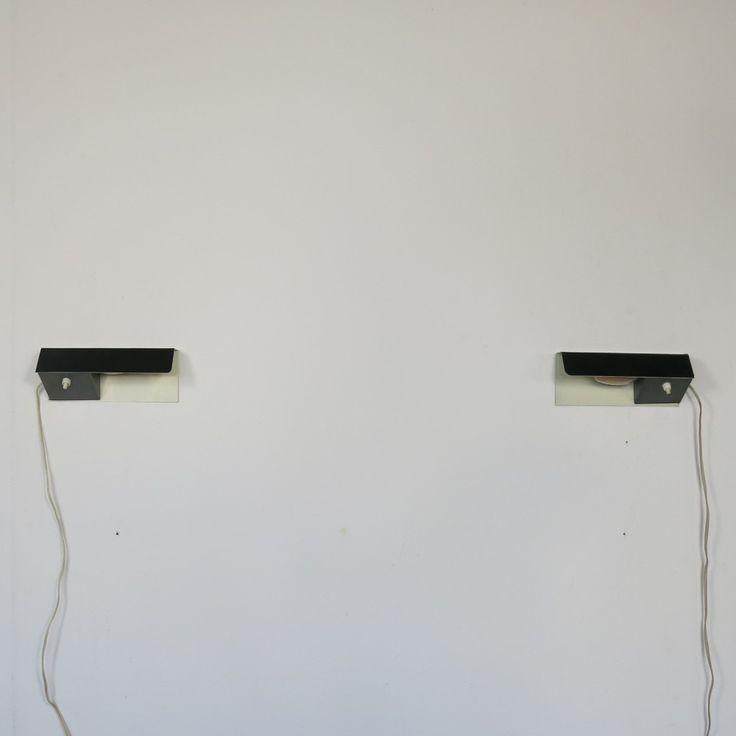 Located using retrostart.com > No. 7032 Wall Lamp by J. Hoogervorst for Anvia Almelo