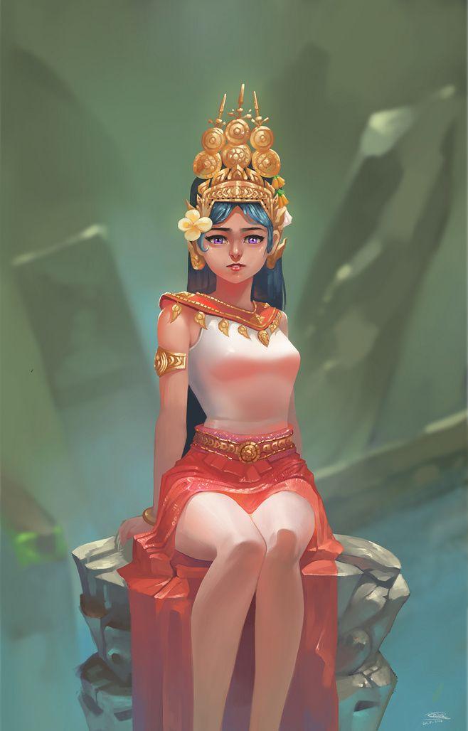 Apsara cambodian tra...@nAKgeBTi采集到3(158图)_花瓣