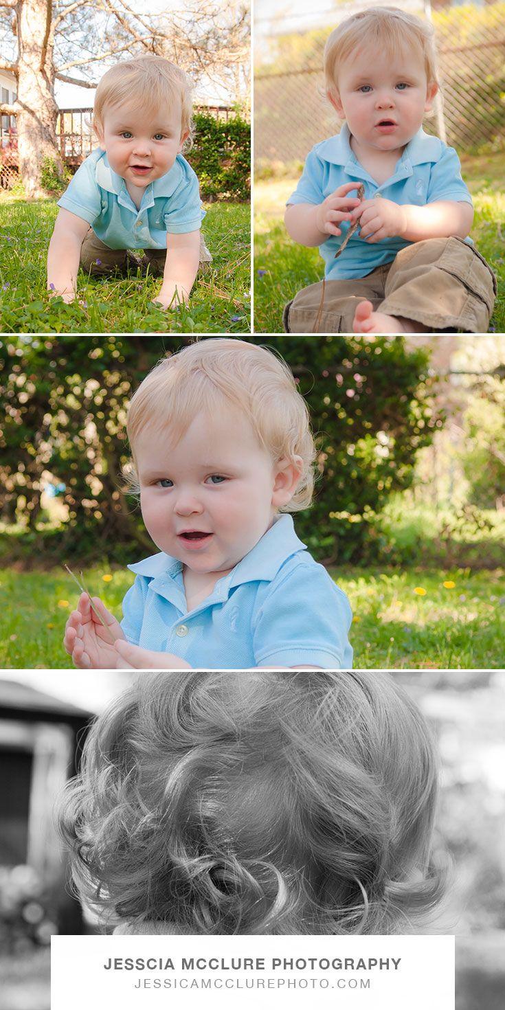Joey turns 1!!!— Jessica McClure Photography
