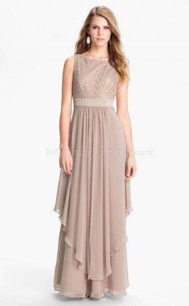 Lace+A-line+Bateau+Floor-length+Nude+Ball+Dresses(NZJT06497)