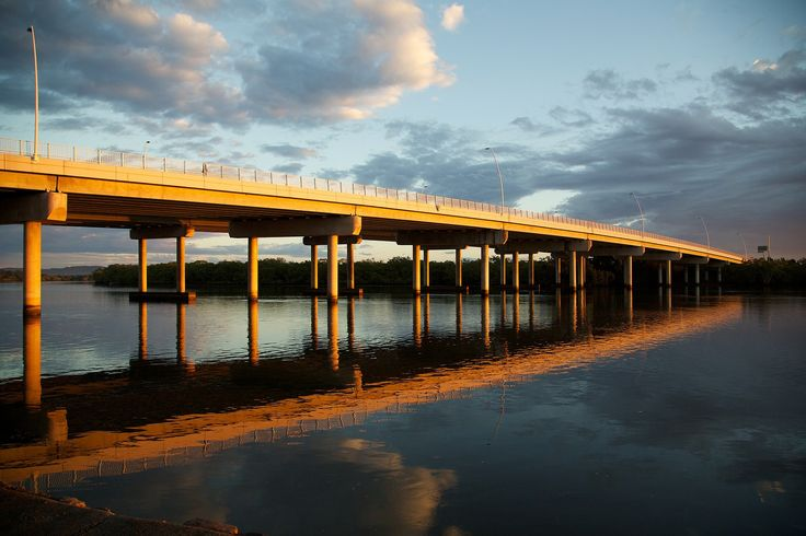 Maroochy River & Maroochy Bridge - Not only a beautiful bridge but a great spot for a fish and its right opposite our outstanding establishment!