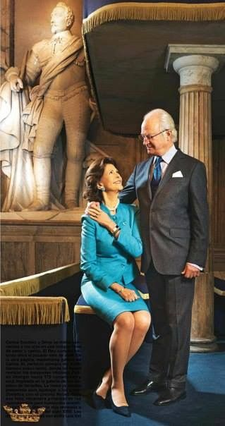 King Carl Gustaf and Queen Silvia