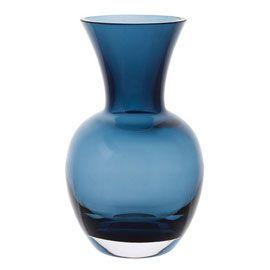 """DARTINGTON"" Dartington Little Gems Urn Ink Blue Vase at Heal's"