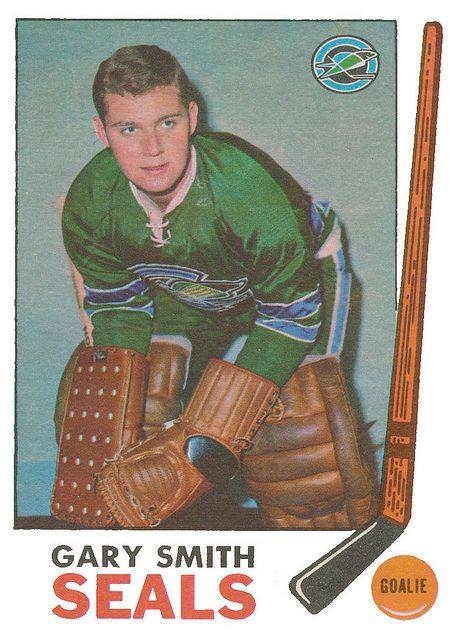 Gary Smith, 1969-70 OPC Hockey set.