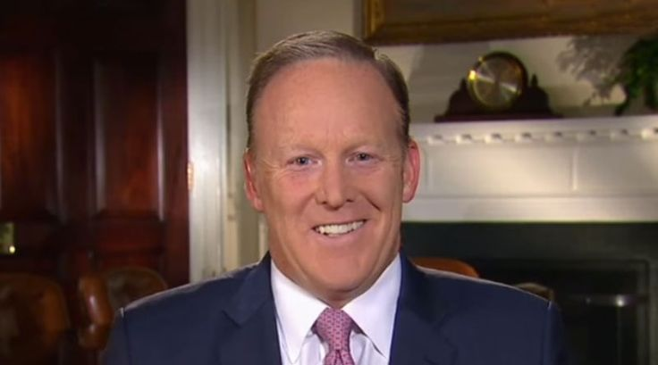 """Furious writers of political satire are planning a mass rally in London later today to protest against the resignation yesterday of White House press secretary, Sean Spicer. The organiser of what is being called, a satirist's 'day of rage', Toby Dell, 45, told us: """"I was absolutely shaken to the core when I heard that Spicer had quit.   #Sean Spicer And Trump #Sean Spicer Resigns #Sean Spicer Twitter #Sean Spicer Wiki"""