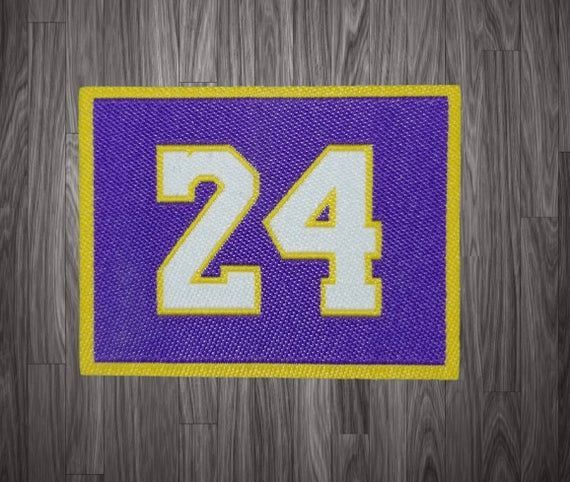 Kobe Bryant Jersey Patch Los Angeles Lakers Basketball Patch For Signed Or Auto Items In 2020 Los Angeles Lakers Basketball Kobe Bryant Wallpaper Kobe Bryant