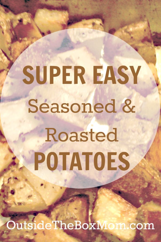 SUPER EASY seasoned & roasted potatoes-- perfect for Thanksgiving! The Ultimate Pinterest Party, Week 71