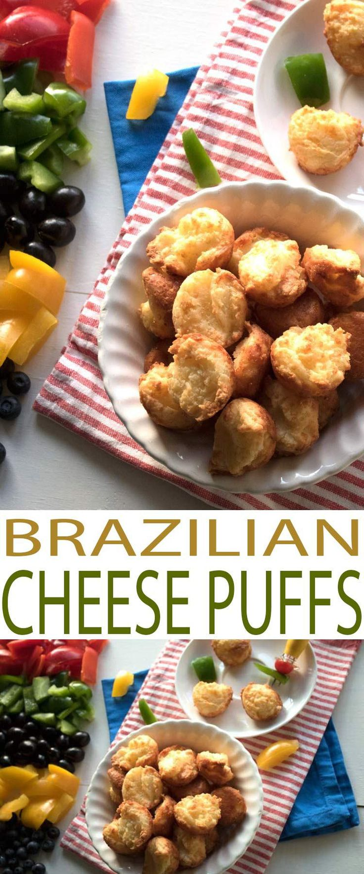 Make Brazilian Cheese Puffs recipe to celebrate the rich history of Brazil and the food traditions that came about because of it.