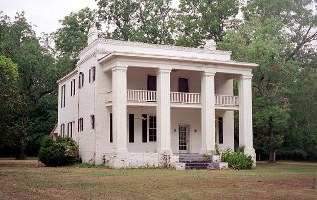 A building that was originally used as slave quarters on the estate of Shoestring Barker is one of only two remaining in the ghost town of Cahaba. The Kirkpatrick family took over the residence after the Civil War, and after the famly's home burned down in 1935, Clifton Kirkpatrick Jr. added a portico and back wing to the quarters for the family's new residence. (AL.com/File Photo)