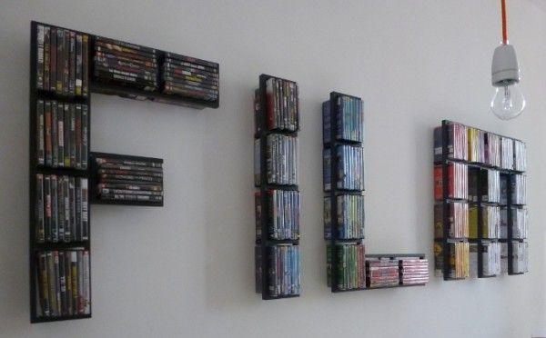 Dvd Wall Storage | Home Design Ideas