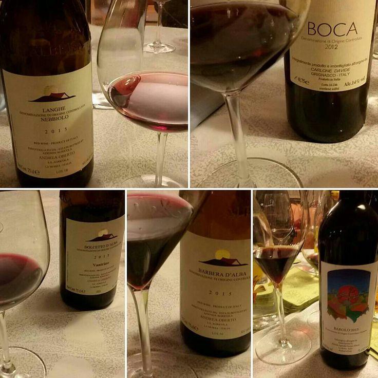 Degustazione di vini rossi piemontesi organizzata da Libera-mente no profit