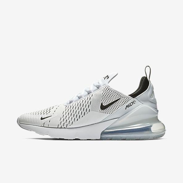 White Air Max 270 Shoes. | Nike air max, Running