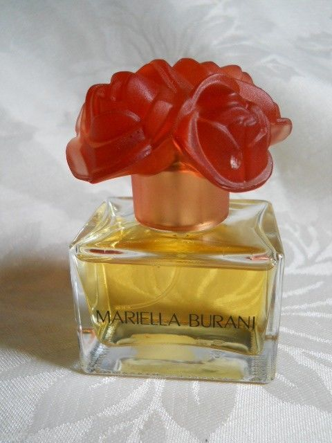 Mariella Burani Italy Perfume Edt Red Rose Cap Spray