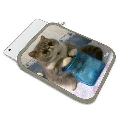 Una cover personalizzata con la foto di un simpatico gatto