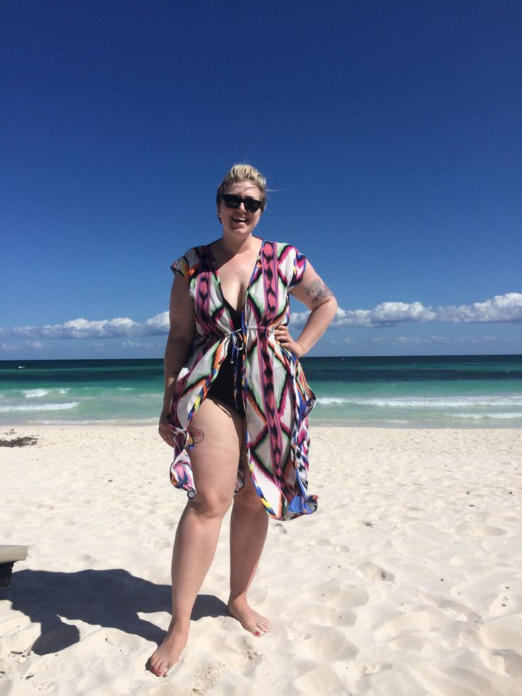 Plus Size beach and resort wear - aka My Honeymoon... | IN THE THICK OF IT