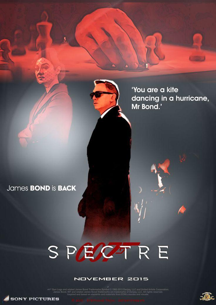 james Bond SPECTER teaser trailer poster