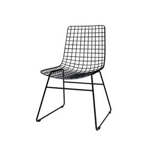 Metalen draad stoel, Zwart, medium sissyboy