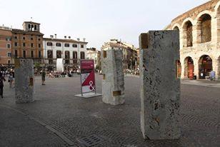Credits: Ennevi-Veronafiere Riuso per una città futura. Marini Marmi & PBEB Paolo Belloni Architetto - Pietra: Ceppo di Gré