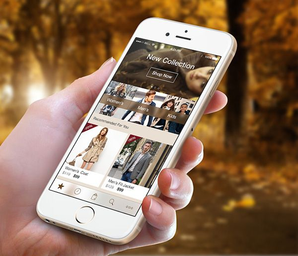 Fashion App on Behance
