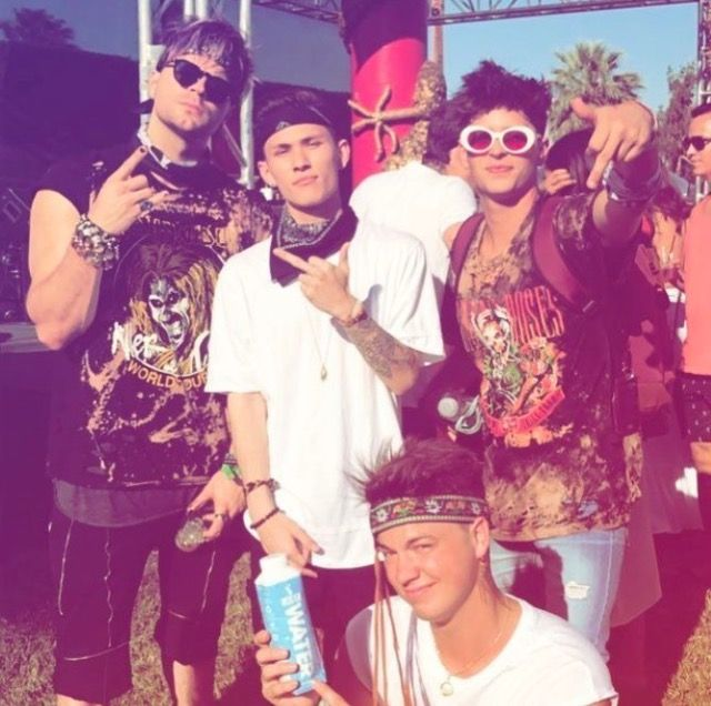 Golden. Carter Raynolds. Taylor Caniff. colbyjames | Coachella 2017 🌈☀️🌴