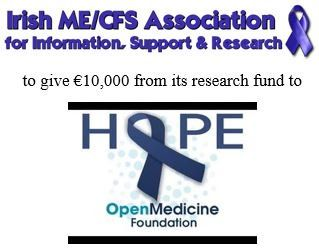 Irish ME/#CFS Association to give €10,000 to Open Medicine Foundation @OpenMedF  (statement 1 of 2) (May 22, 2017)    http://www.twitlonger.com/show/n_1spt22d   #MyalgicE #MEcfs