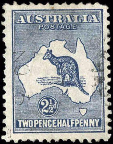 Australia, ###4, F+, Used