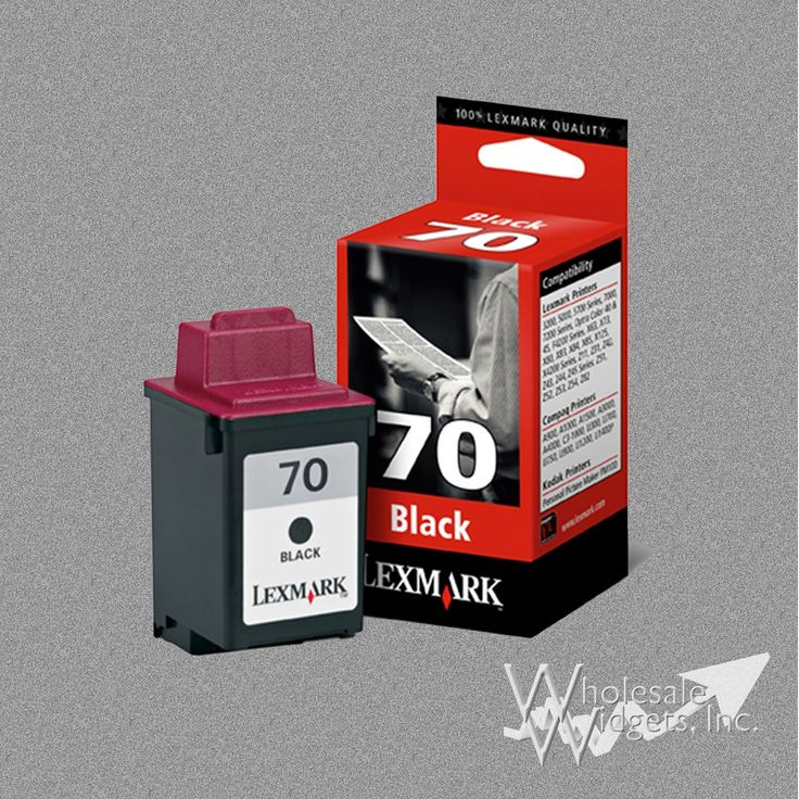 Lexmark 70 Black Ink For Use In 3200, 5000, 5700, 5770, 7000, 7200, X63, X73, X83, X85, X125, X4250, X4270, Z11, Z31, Z42, Z43, Z45, Z51, Z52, Z53, Z8
